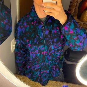 NIKE RARE vintage fleece half zip pullover size M